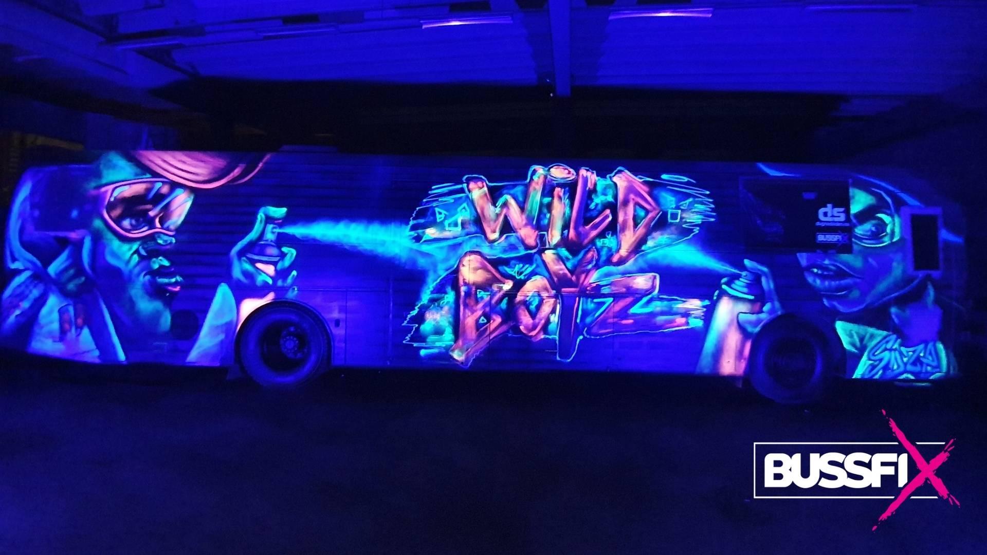 UV Graffiti russebuss Wild Boyz 2020